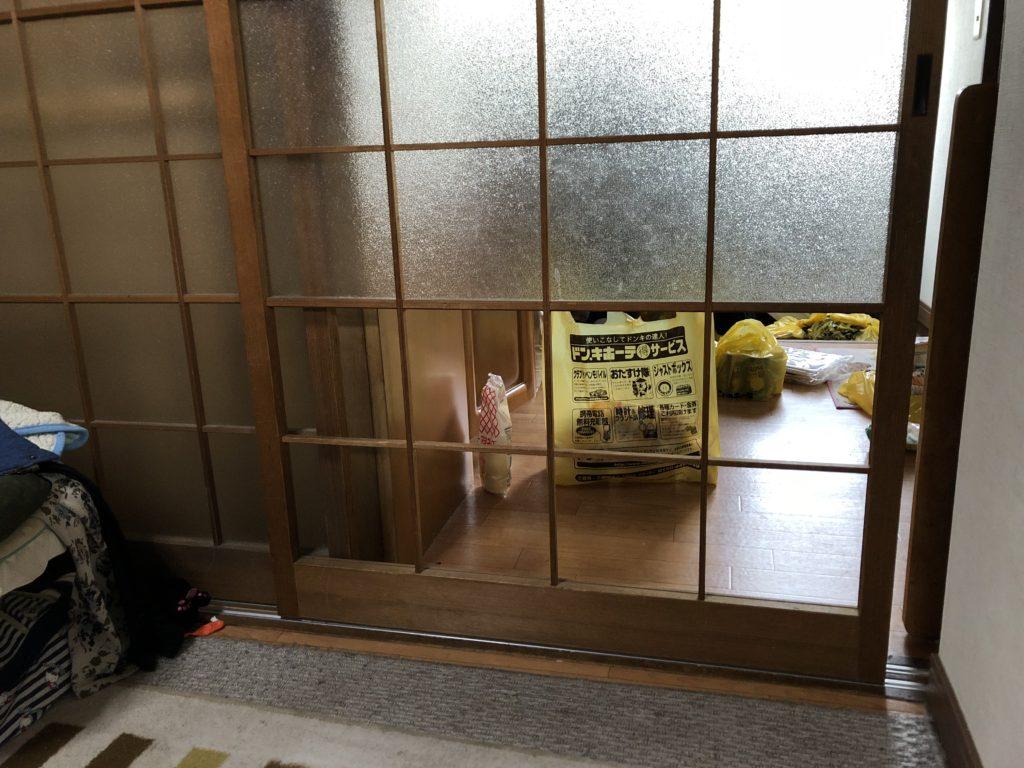 室内建具 ガラス交換