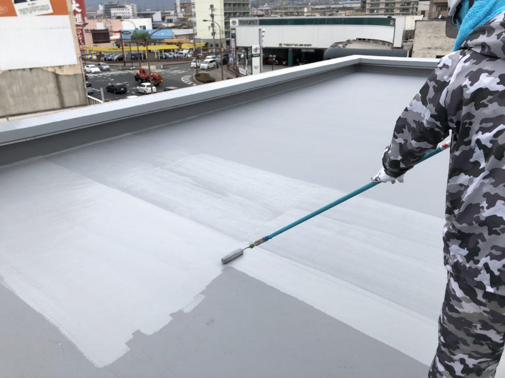 屋上防止 遮熱塗料