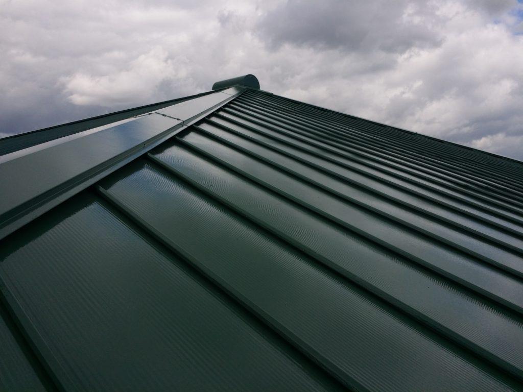 鋼板屋根 瓦棒 屋根塗装
