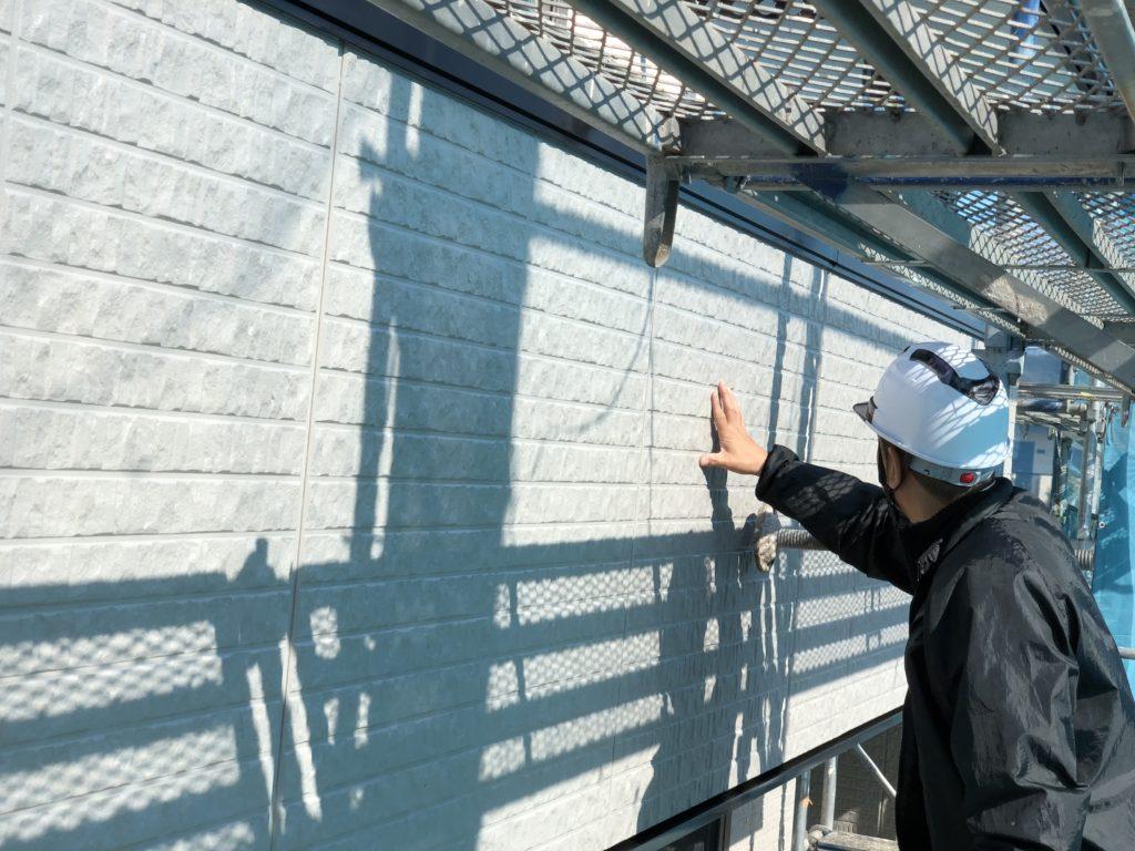 外壁塗装 検査状況