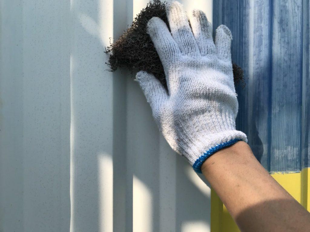 外壁塗装 ケレン作業