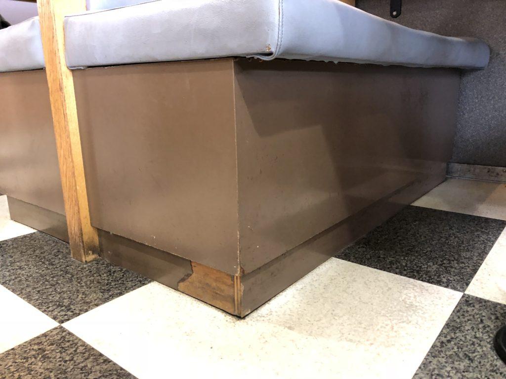 テーブル改修 椅子改修