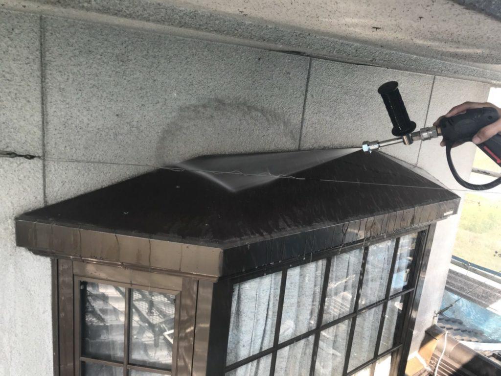 外壁塗装 高圧水洗浄
