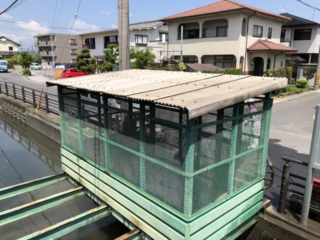施工後 スレート屋根 高圧水洗浄