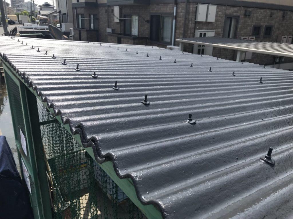 スレート屋根 塗装