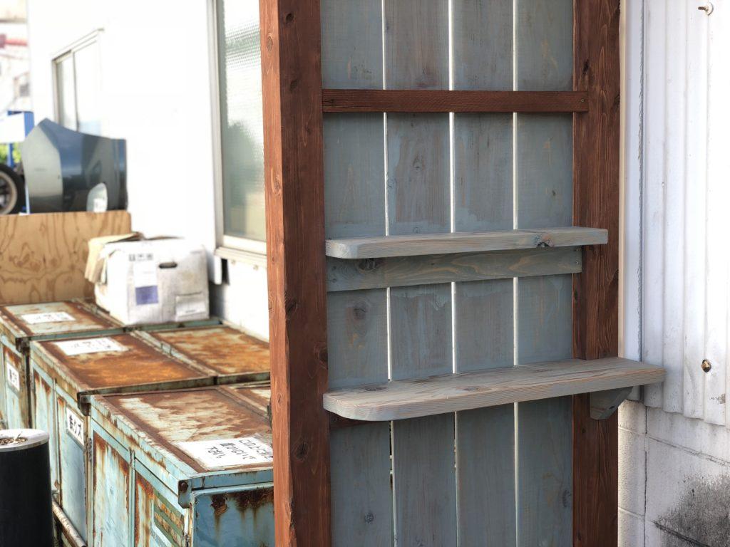ウッドテラス 屋根 棚