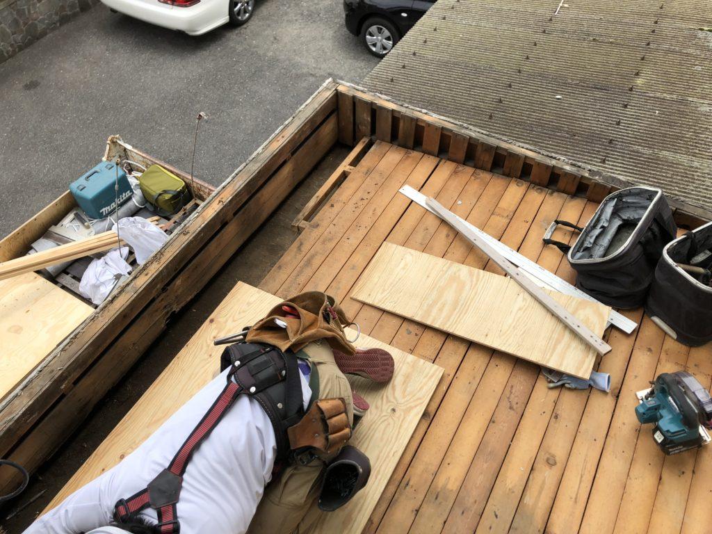 雨漏り改修工事 屋根工事