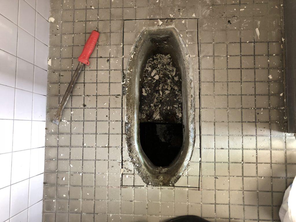トイレ 和便器 改修工事