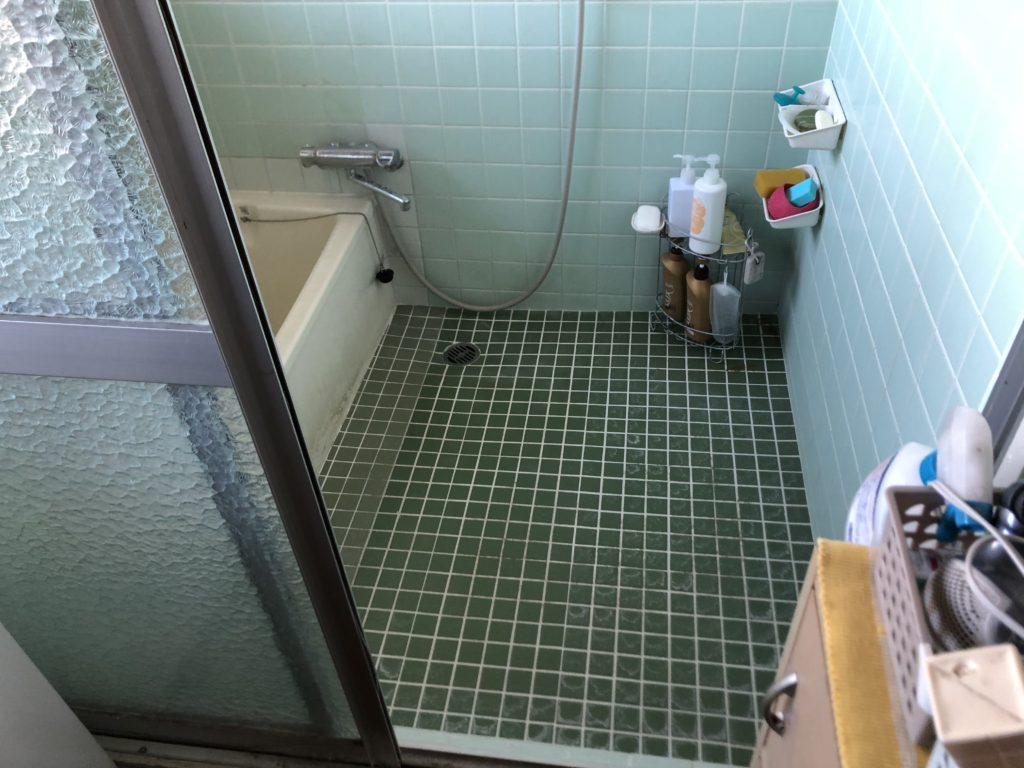 浴室リフォーム タイル風呂