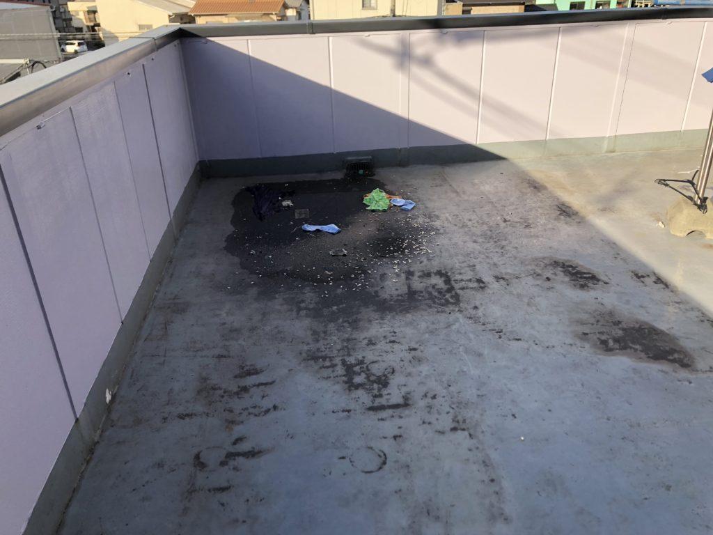 屋上防水工事 ウレタン塗膜防水