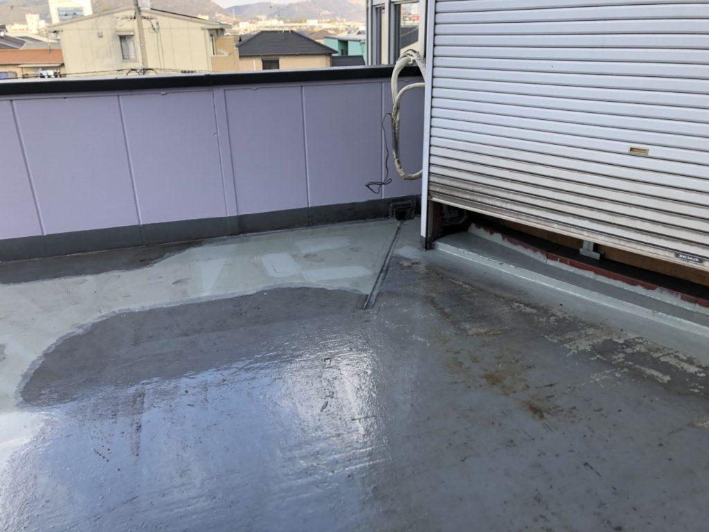 屋上防水 ウレタン塗膜防水 不陸調整