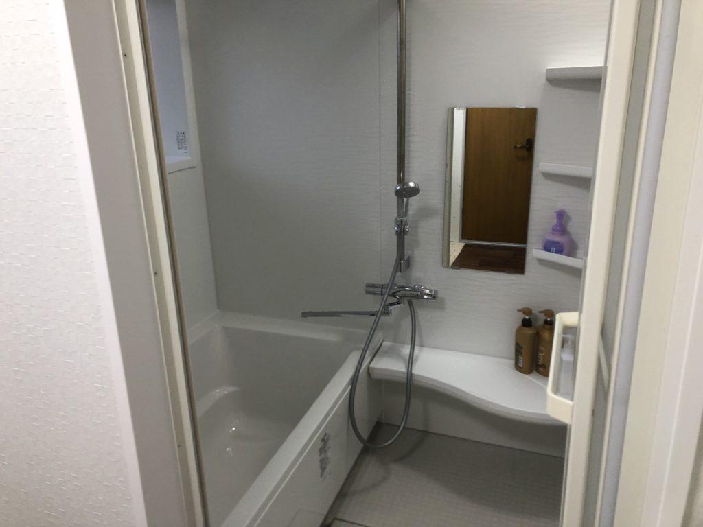 浴室リフォーム タイル貼り風呂