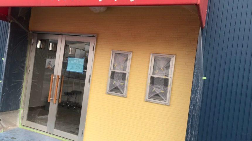 外壁塗装 テント清掃 倉敷市真備町
