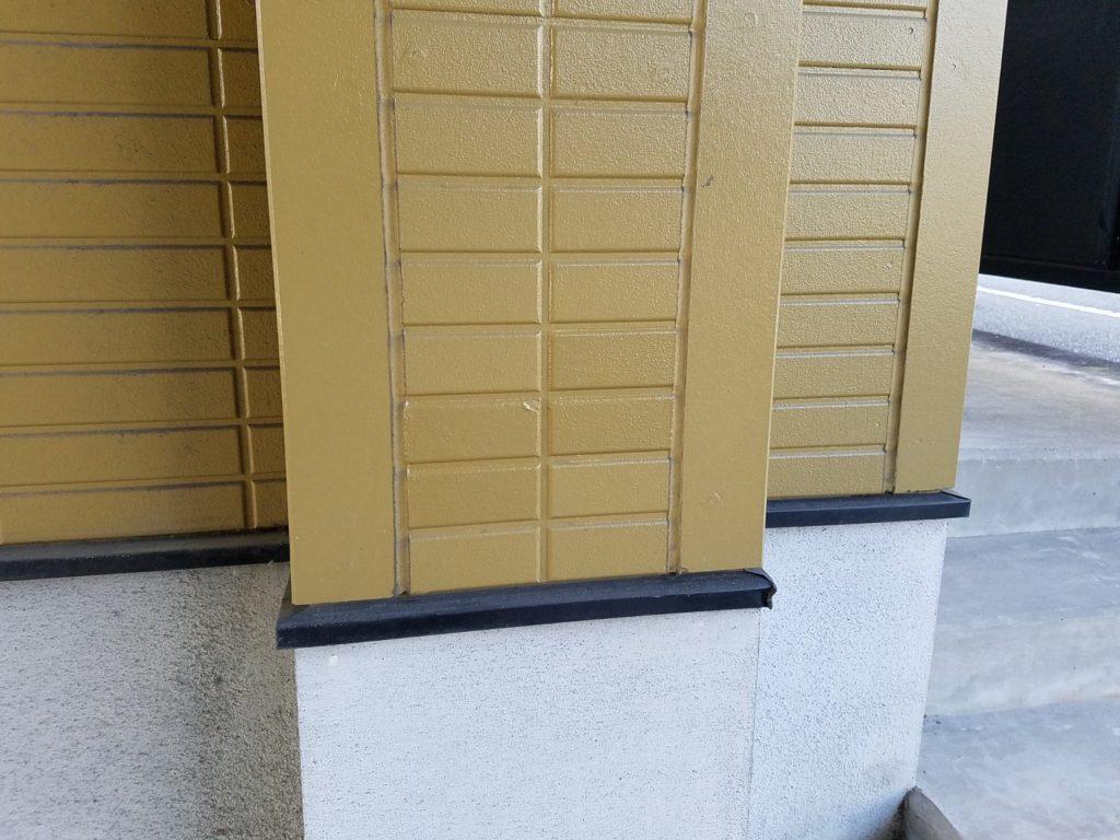 外壁塗装 部分タッチアップ塗装 岡山市中区